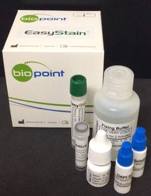 EasyStain™ - an immunofluorescence reagent designed for use in testing water samples